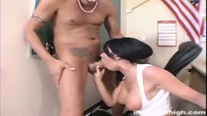 Busty and sexy Cody punished sucking and fucking the dean - scene 3