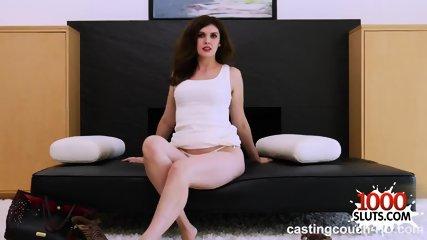 Hot pornstar casting and cum in mouth