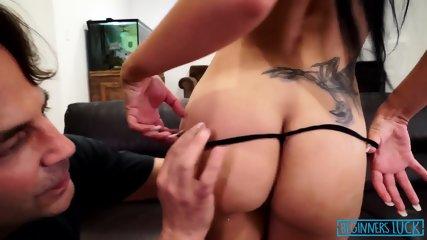 Busty Girl Fucked In Throat - scene 5