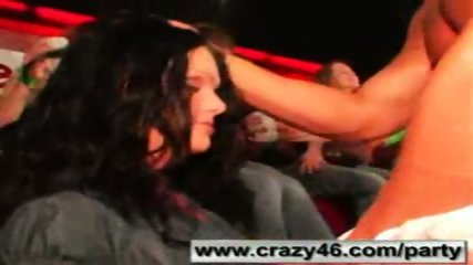 Babes getting drunk at CFNM Stripper Party - scene 2