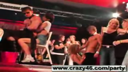 Babes getting drunk at CFNM Stripper Party - scene 7