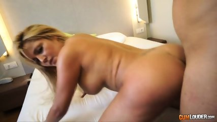 Naked Blonde's Ass Filled With Cock - scene 12
