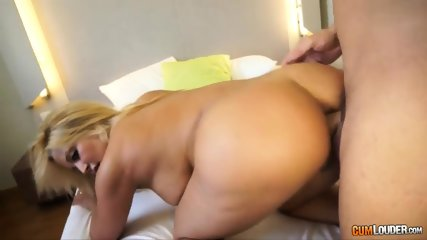 Naked Blonde's Ass Filled With Cock - scene 6