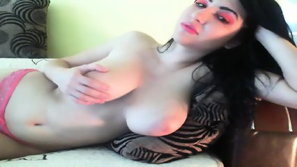 Big Tits Teen On Webcam - scene 5