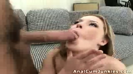 Ginger chick cumshot - scene 11