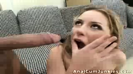 Ginger chick cumshot - scene 12