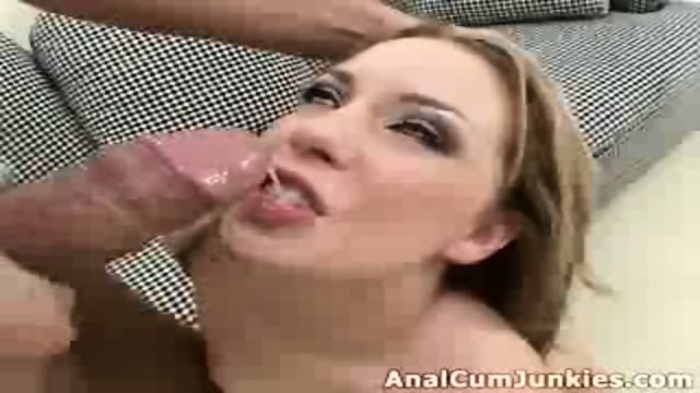 Ginger chick cumshot