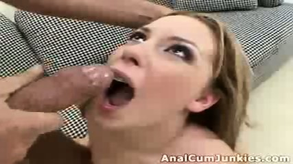 Ginger chick cumshot - scene 5