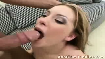 Ginger chick cumshot - scene 6