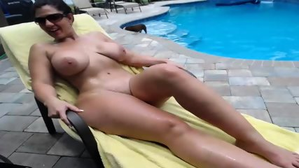 Couple Fucks By The Pool - scene 4