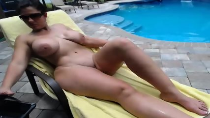 Couple Fucks By The Pool - scene 5