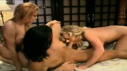 Two Incredible Big Tit Blondesshare 1 cock - scene 8