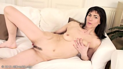 Mature Woman And Her Playful Fingers - scene 11