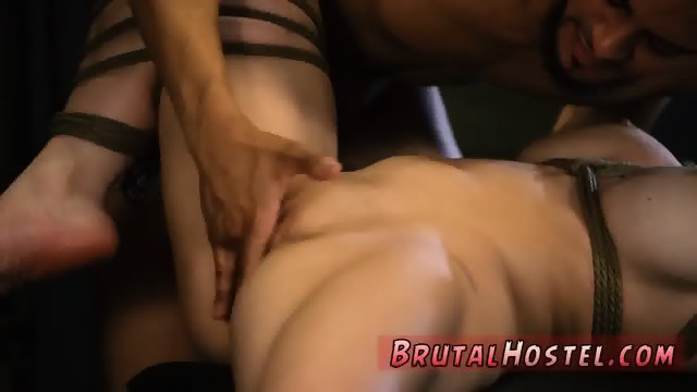 German brutal anal gangbang first time Rope bondage, whipping, extreme raunchy sex,