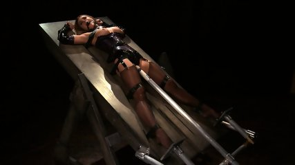 Tied And Stimulated By Fucking Machine - scene 8