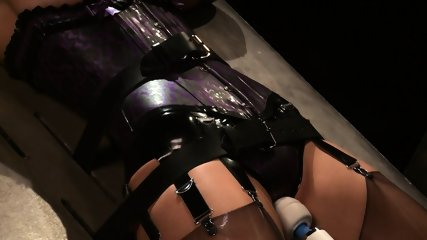Tied And Stimulated By Fucking Machine - scene 10