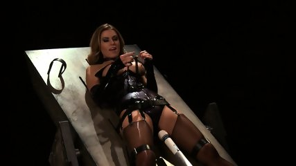 Tied And Stimulated By Fucking Machine - scene 4