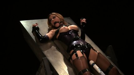 Tied And Stimulated By Fucking Machine - scene 5