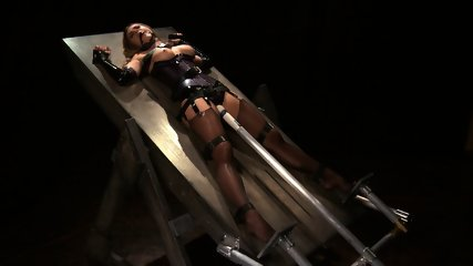 Tied And Stimulated By Fucking Machine - scene 6