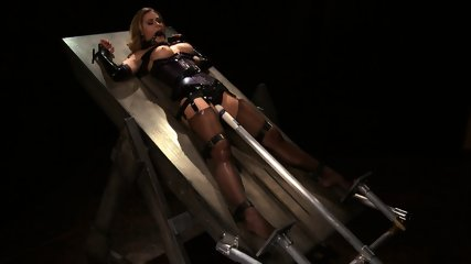 Tied And Stimulated By Fucking Machine - scene 7