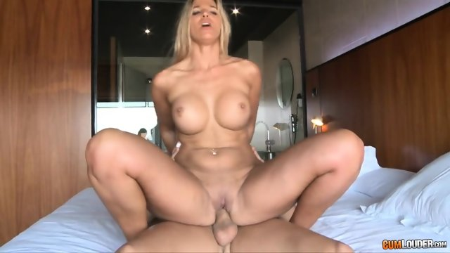 Nice Cock Riding By Horny Blonde