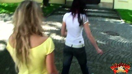 Foursome Sex On Green Carpet - scene 1