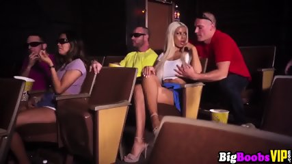 Massively stacked Bridgette B cheats on her bf in public