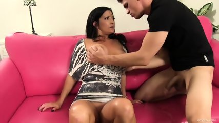 Young Hard Cock For Busty Mommy Sammy Brooks - scene 7