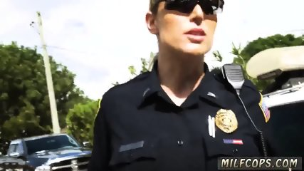Milf spit Don t be ebony and suspicious around Black Patrol cops or else - scene 8