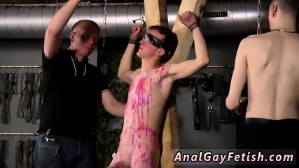 Senior gay bondage s Inexperienced Boy Gets Owned - scene 8