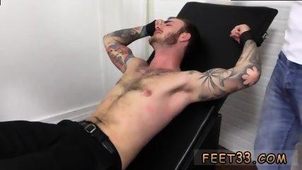 Slave gay feet Officer Christian Wilde Tickled - scene 9