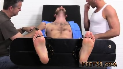 Slave gay feet Officer Christian Wilde Tickled
