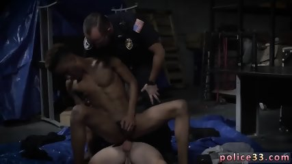Twink gay sex stream Breaking and Entering Leads to a Hard Arrest - scene 4