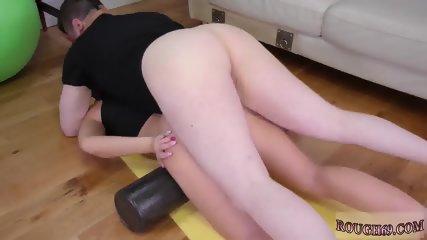 Brutal rough bound dp Ass-Slave Yoga - scene 2