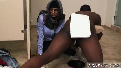 Arab blond girl Black vs White, My Ultimate Dick Challenge. - scene 9