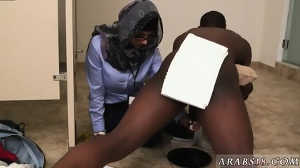 Arab blond girl Black vs White, My Ultimate Dick Challenge. - scene 7