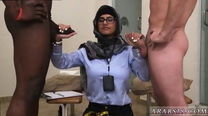Amateur arab milf and big booty sex Black vs White, My Ultimate Dick Challenge. - scene 8
