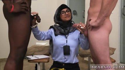Amateur arab milf and big booty sex Black vs White, My Ultimate Dick Challenge. - scene 9
