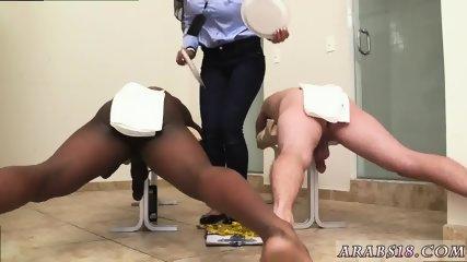 Amateur arab milf and big booty sex Black vs White, My Ultimate Dick Challenge. - scene 10