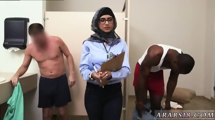 Amateur arab milf and big booty sex Black vs White, My Ultimate Dick Challenge. - scene 1