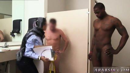 Amateur arab milf and big booty sex Black vs White, My Ultimate Dick Challenge. - scene 3