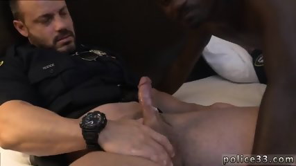 Gay muscle cop You Act A Fool, You Pay The Price - scene 9
