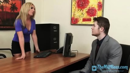 Bossy Wife Fucked on the Office Table