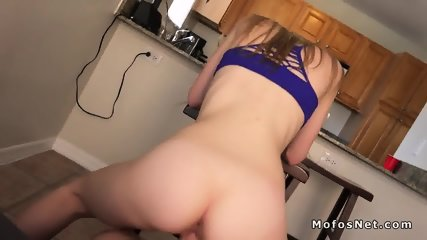 Perfect butt girlfriend rides big dick - scene 5