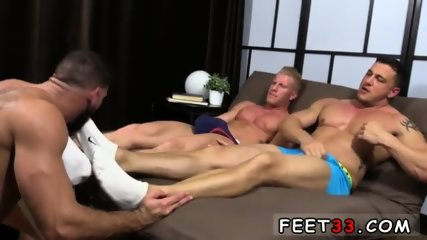 Emo gay sexy feet movie Ricky Hypnotized To Worship Johnny & Joey - scene 3