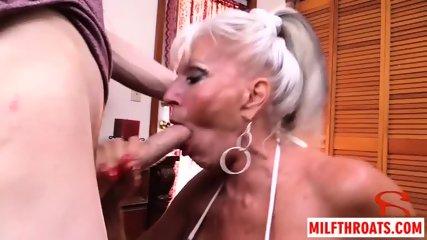 Big tits milf threesome with cumshot - scene 9