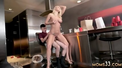Fuck step mom in ass and milf teacher Horny Step Mom Gets Slammed - scene 2