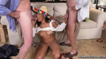 Old woman pissing and fuck Going South Of The Border - scene 9