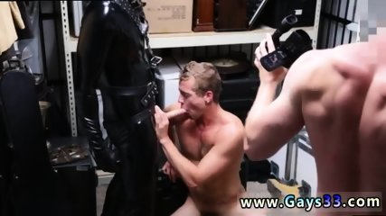 Straight married men masturbating gay Dungeon tormentor with a gimp - scene 8