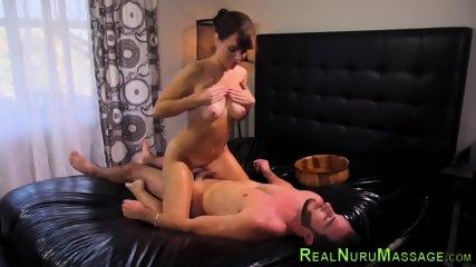 Horny milf tugs for cum - scene 8